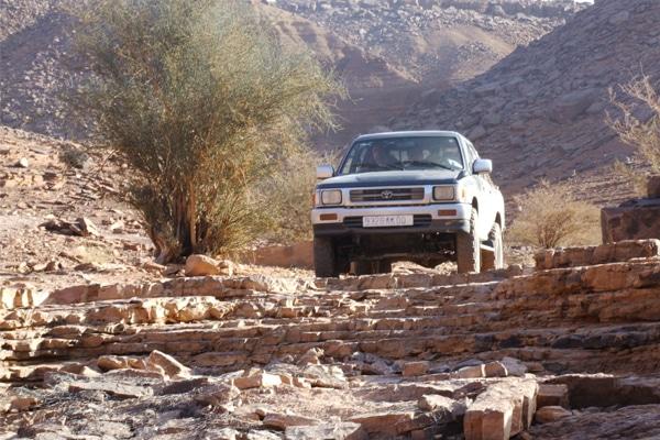 Circuit 4x4 Mauritanie