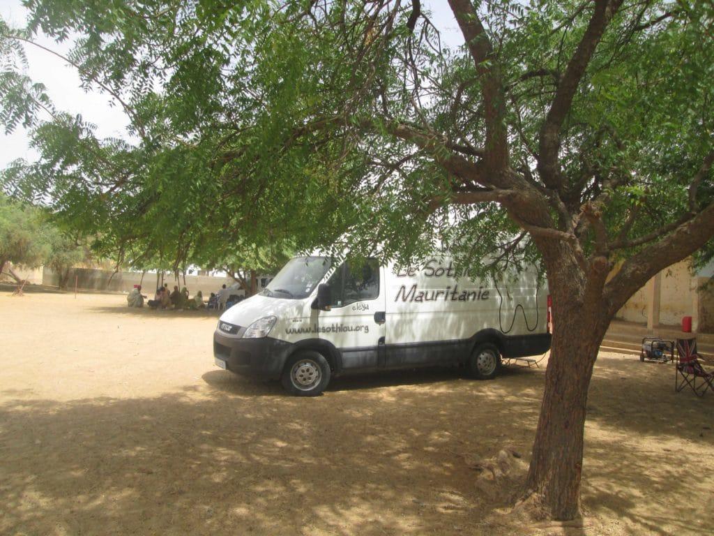Unité mobile le Sothiou, mission dentaire