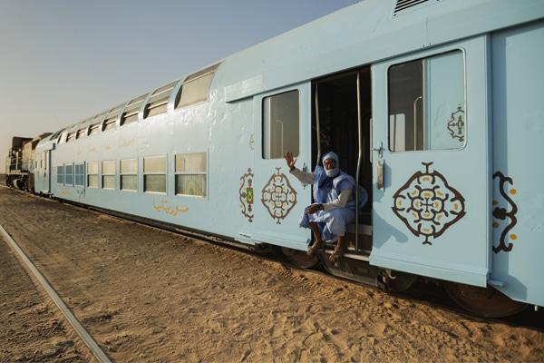 Sid Ahmed, Guide Train du Désert