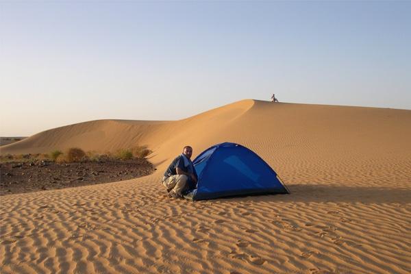 Bivouac circuit 4x4 Mauritanie