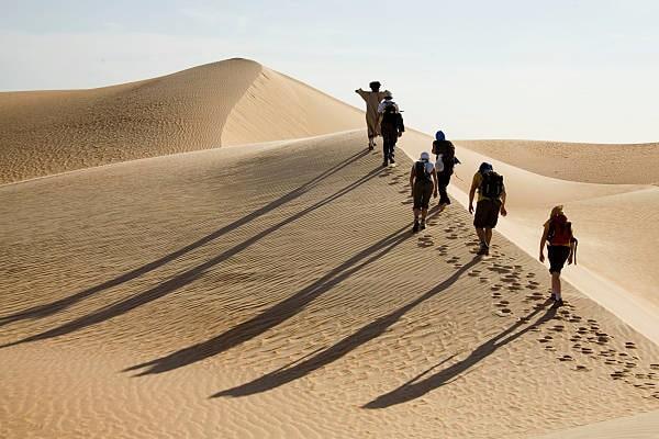 Rando dunes Erg Ouarane