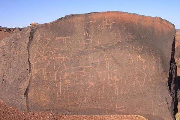 Gravures rupestres Adrar