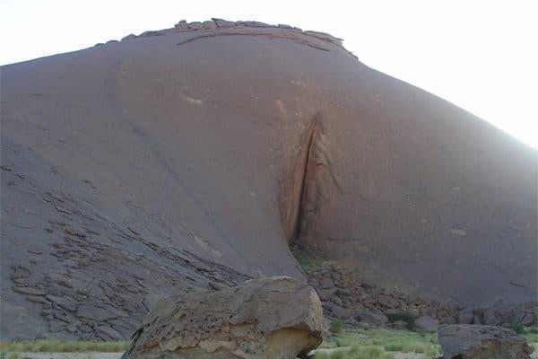 Monolithe Aicha à Ben Amira