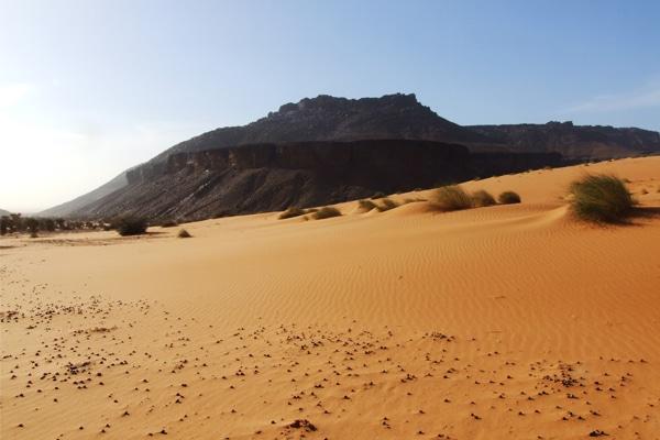 Plateau de grès Adrar en Mauritanie