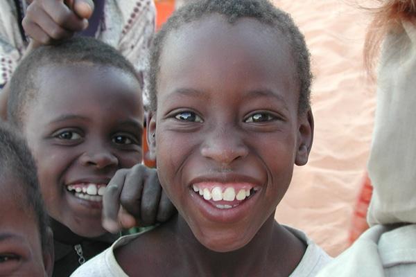Portrait enfant Mauritanie