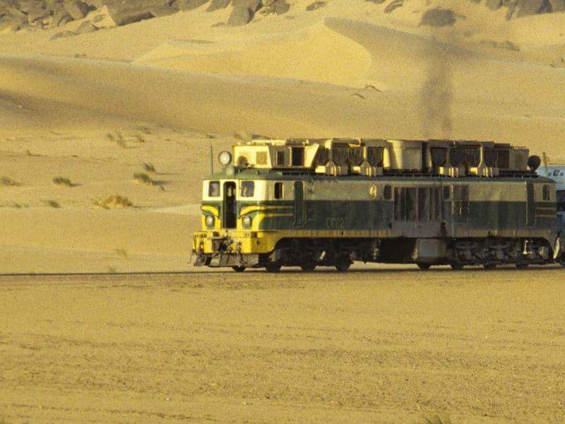 Train du désert Mauritanie