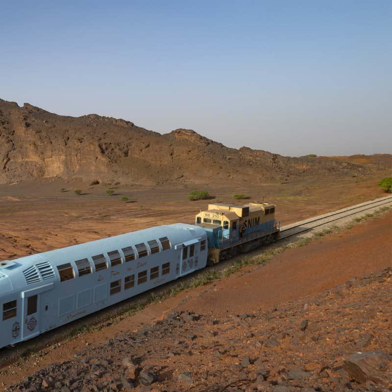 Train du Désert de Choum à Zouerate