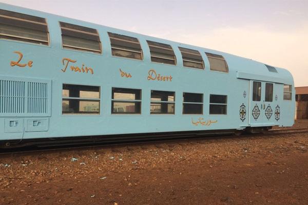 Train du Désert wagon bleu
