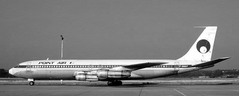 Avion de Point Air B707