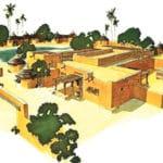 Campement de Gorom-Gorom au Burkina Faso
