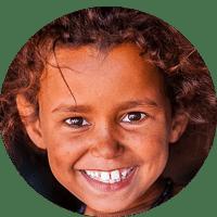 Bulle fillette mauritanienne