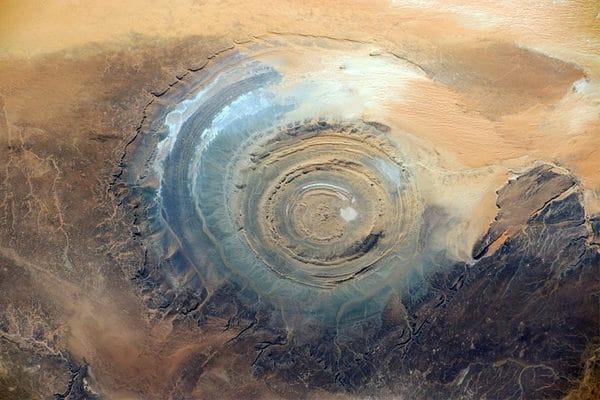 Guelb Er Richat en mauritanie