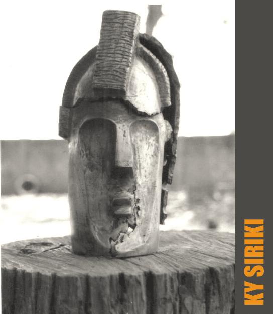 Sculpture de l'artiste burkinabé Ky Siriki
