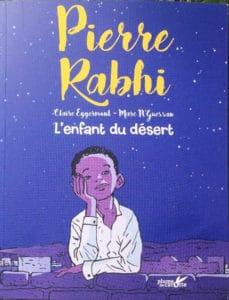 Livre Pierre Rabhi, l'enfant du désert