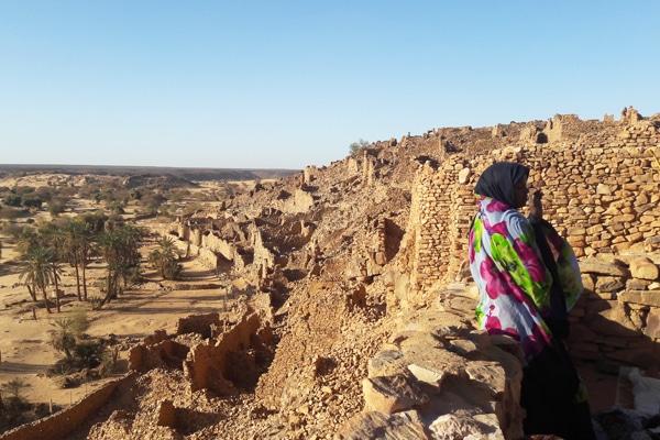 Ruines de l'ancienne cité Ouadane