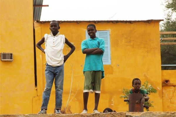 Sur la route de Podor - Saint Louis du Sénégal