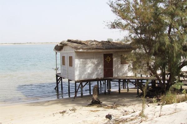 Maison sur pilotis Saint Louis du Sénégal