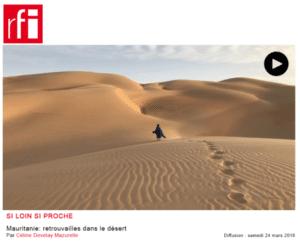 RFI: Mauritanie: retrouvailles dans le désert