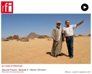 RFI: Maurice Freund - Episode 2: «Momo l'Africain»