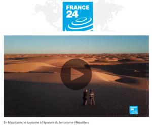 France 24: Vidéo : en Mauritanie, le tourisme à l'épreuve du terrorisme