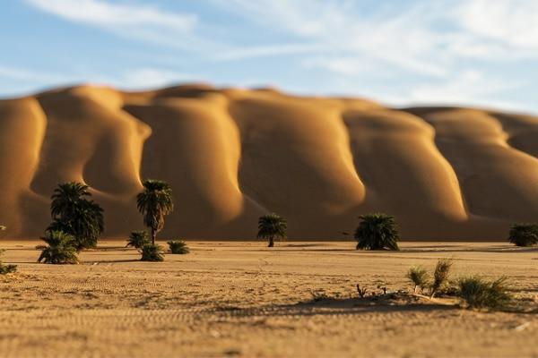 Mirage désert Tagant