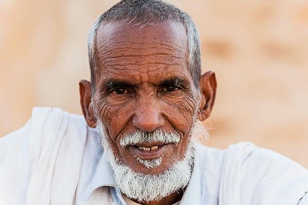 Portrait homme nomade