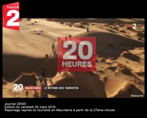 France 2 Vidéo : Mauritanie, le retour des touristes