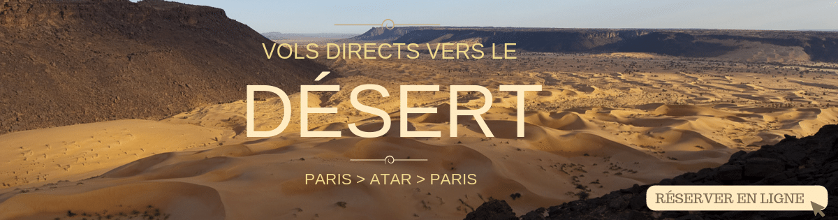 Vols directs vers Atar