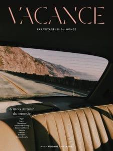 Couverture Magazine Vacance 2018 - Portrait Maurice freund
