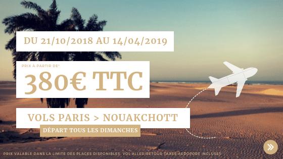 Promo vols Nouakchott
