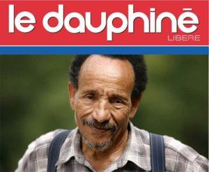 Journal Dauphiné Libéré - Grand Bivouac Pierre Rabhi et Maurice Freund