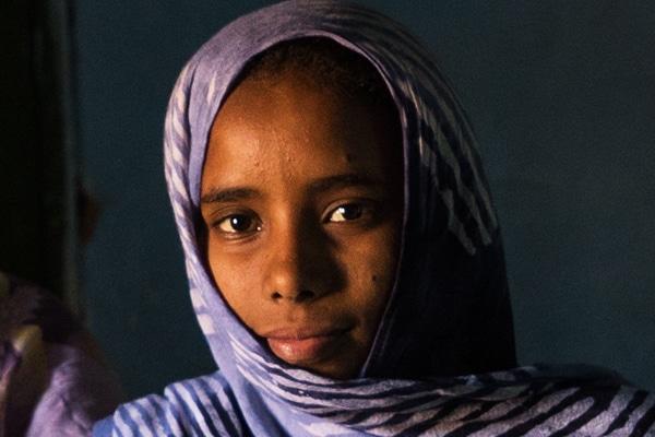 Portrait jeune fille Maaden