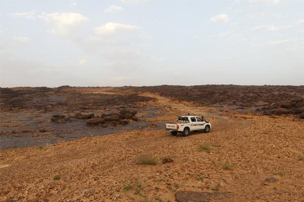 Route en pavés Maaden