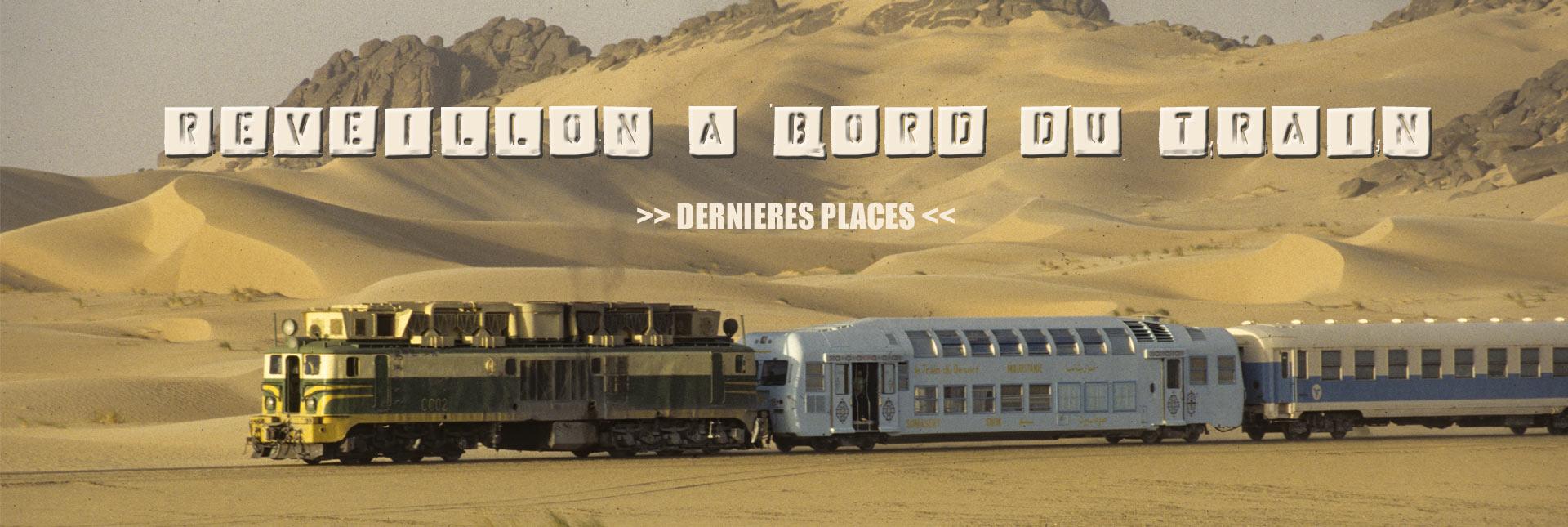 Réveillon à bord du train du Désert