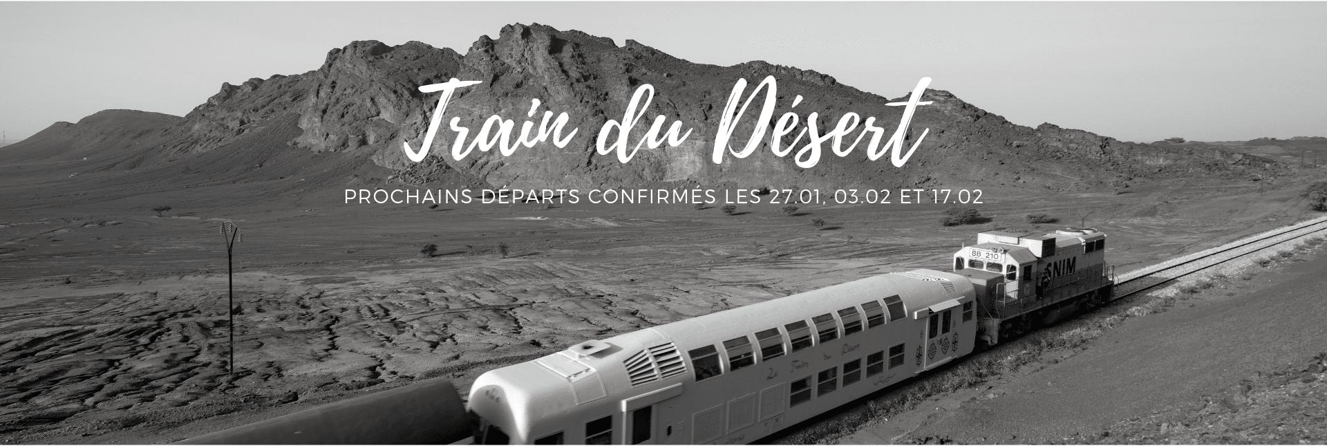 TRain du Désert départs confirmés Mauritanie