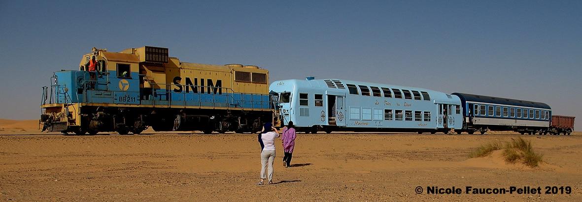 Train du Désert en Mauritanie de Choum à Zouérate - Image de Nicole Pellet