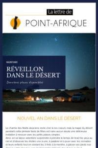 Apercu mailing Noel et Nouvel an en Mauritanie