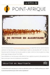 Apercu mailing Retour en Mauritanie