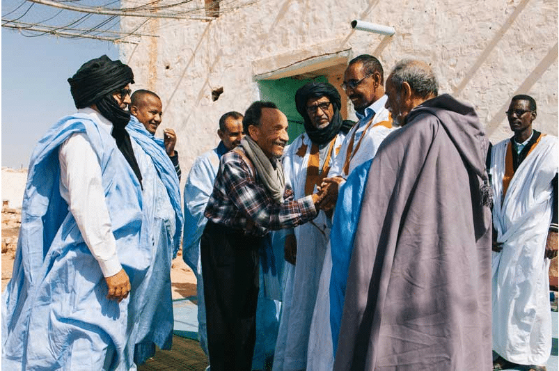 PIerre Rabhi à Maaden, Mauritanie