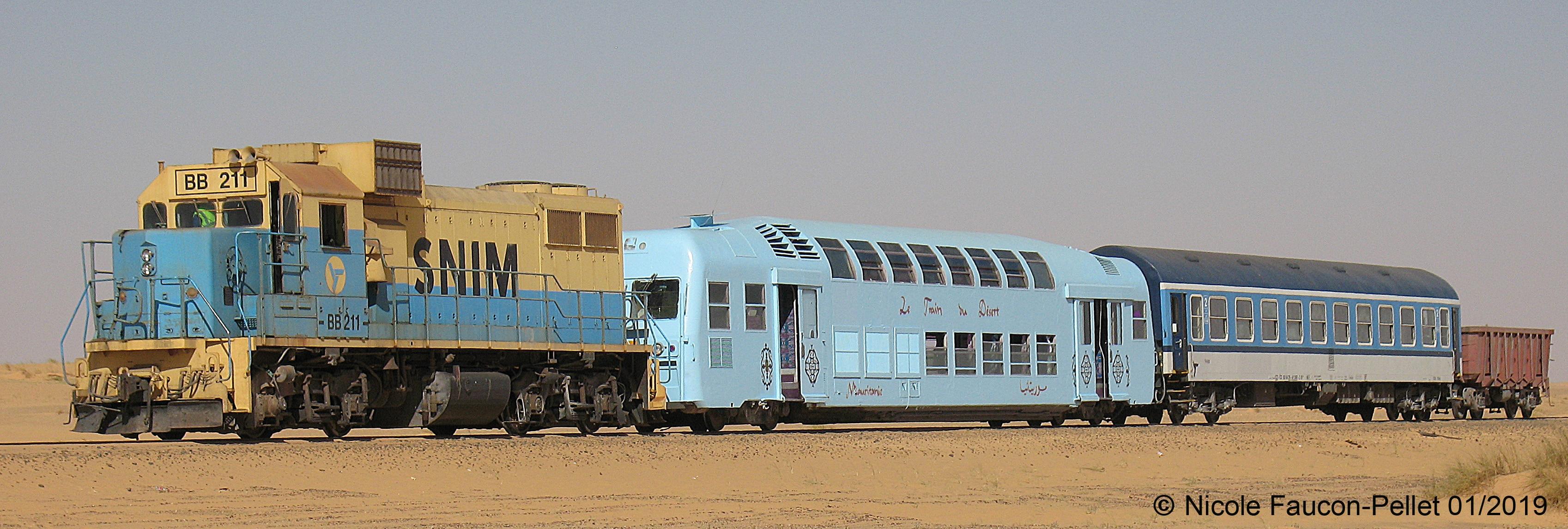 Train du Désert - Photo de Nicole Faucon Pellet