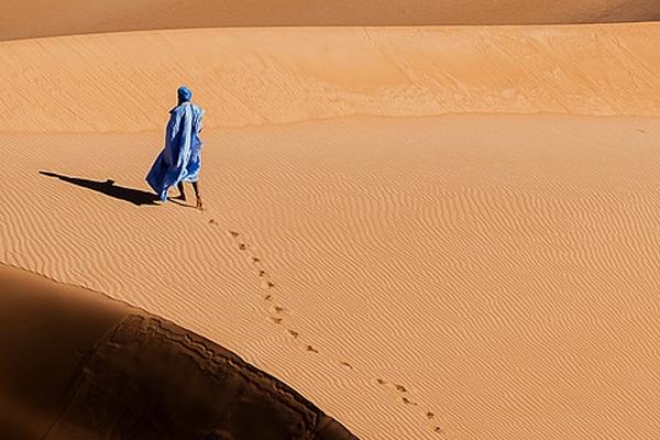 Guide maure adrar mauritanien