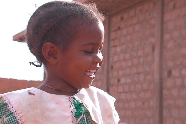Petite fille maure à Chinguetti
