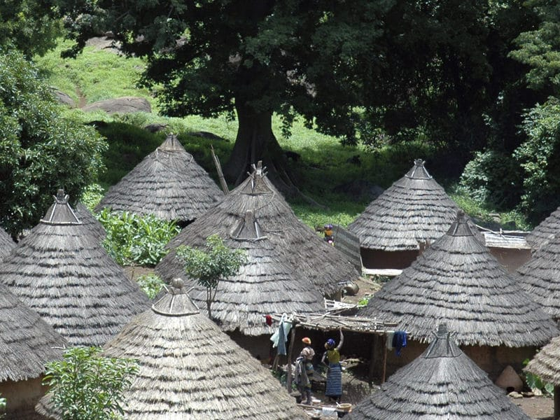 Village Bassari apres Kedougou