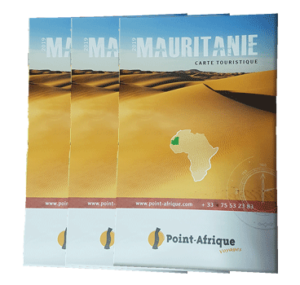 Carte touristiques Mauritanie - Point-Afrique Voyages