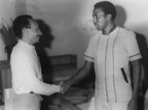 Photo pierre Rabhi et Sankara