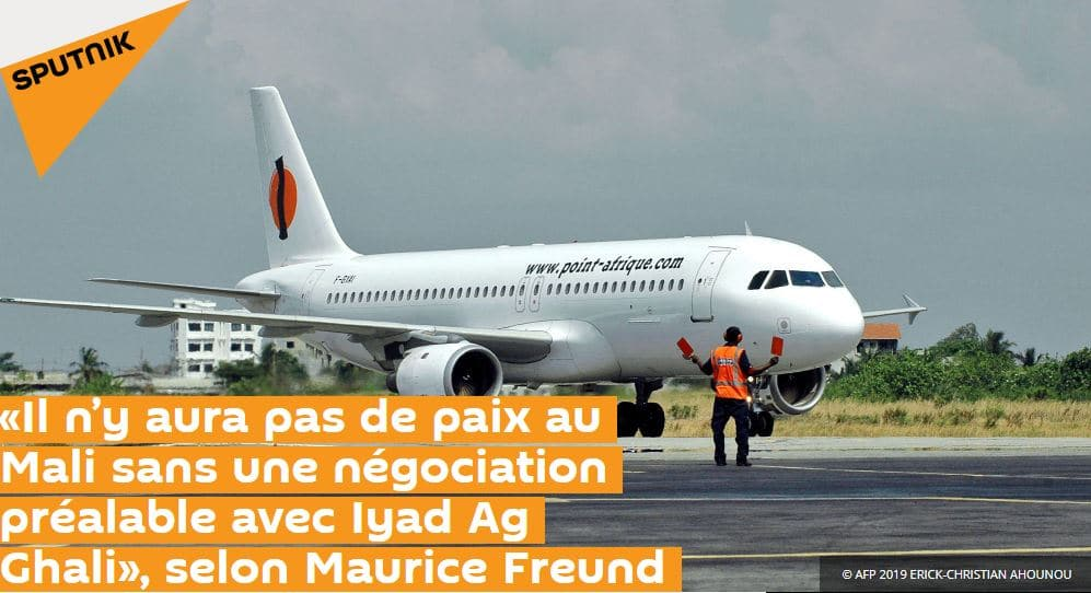 Interview Maurice freund sur Sputniknews