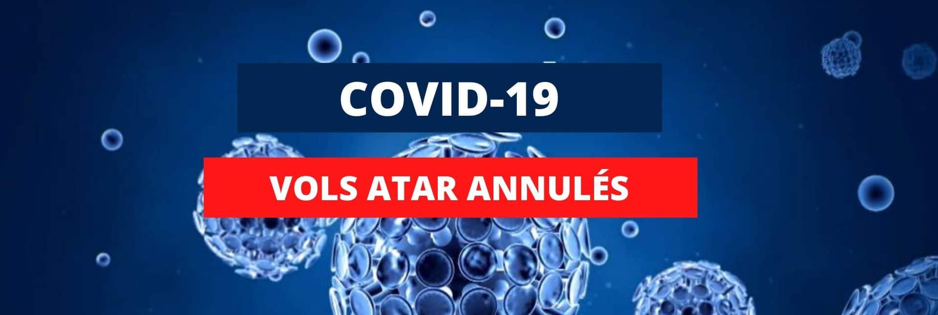 Annulation vols COVID-19
