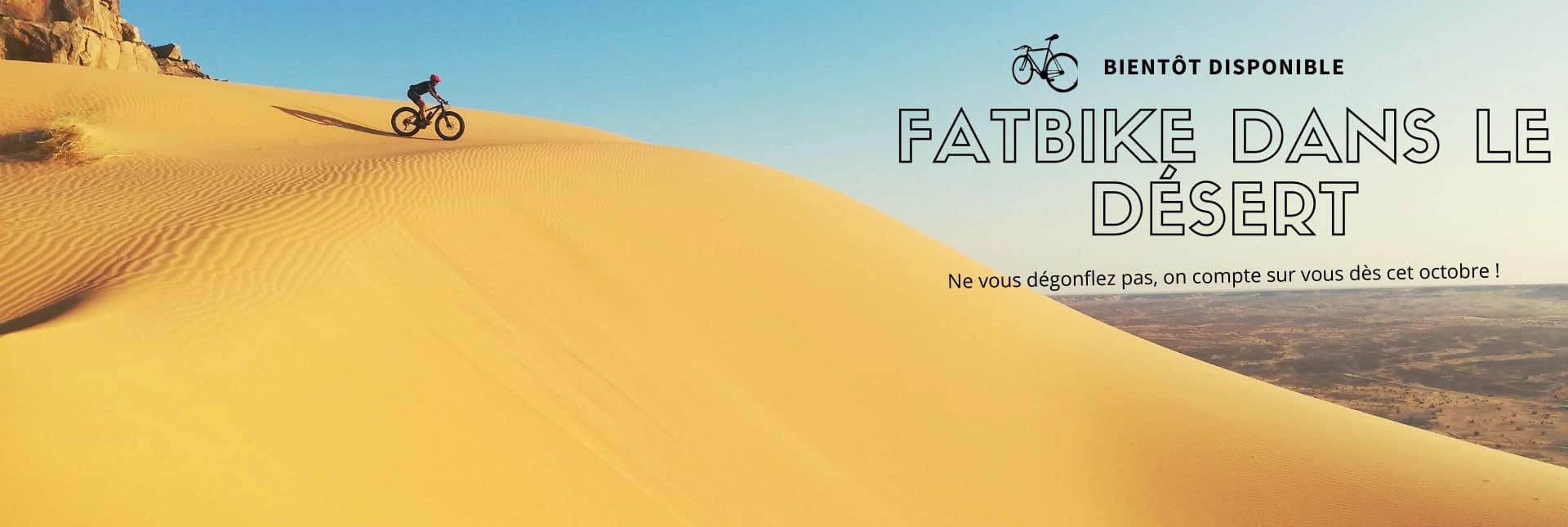 Fatbike en Mauritanie